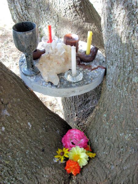 Ovate initiaion altar (6-07)