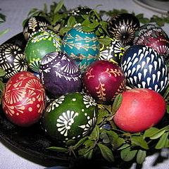 Lituanian Eggs