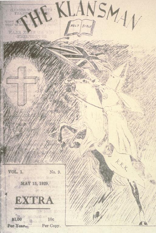 The_Klansman pub_15_May_1929