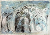Dante and Virgil Penetrating the Forest, ca. 1824-7, by William Blake
