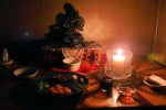 Feast candle