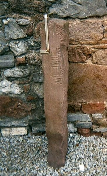 ogham_stone_rathass_church_tralee_kerry