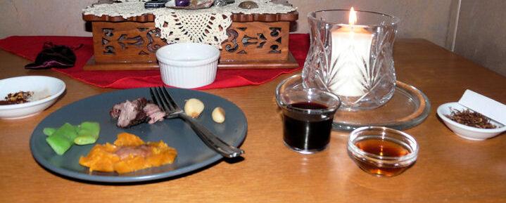 Samhain feast
